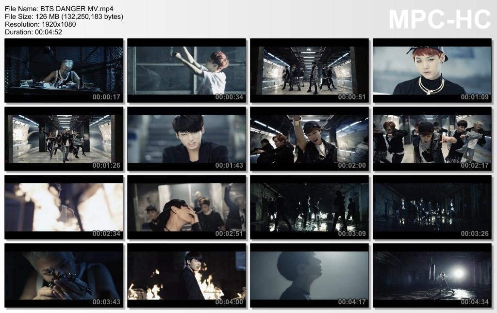 awmf bts danger mv.mp4 thumbs [2017.12.18 00.19.55] - دانلودموزیک ویدیو های BTS | ریلیز 2014